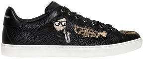 Musical Designers Leather Sneakers