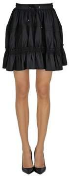 Diesel Black Gold Women's Black Silk Skirt.