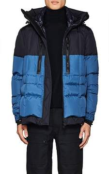 Moncler Men's Colorblocked Down-Quilted Coat