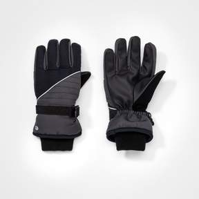 Champion Boys' Colorblock Gloves Gray/Black
