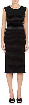 Altuzarra Women's Sylvie Smocked Tech-Jersey Dress