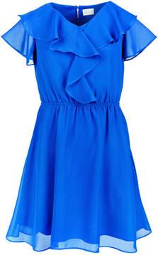Us Angels Big Girls Ruffle-Trim Dress