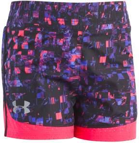 Under Armour Girls 4-6x Overlay Running Shorts