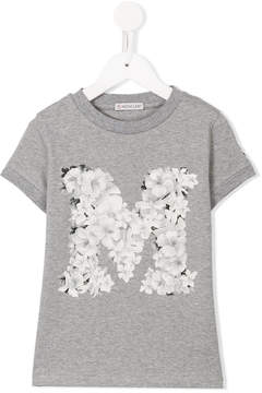 Moncler floral print T-shirt