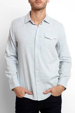 Grayers Double Cloth Long Sleeve Button Down Shirt