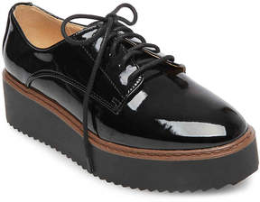 Madden-Girl Women's Written Platform Oxford