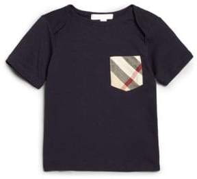 Burberry Toddler Boy's Check Pocket Tee