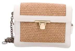 Lanvin Woven Straw Charm Bag