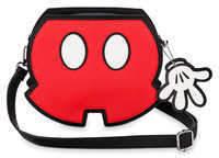 Disney Mickey Mouse Shorts Crossbody Bag by Loungefly