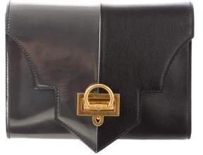 Reece Hudson Bicolor Leather Clutch