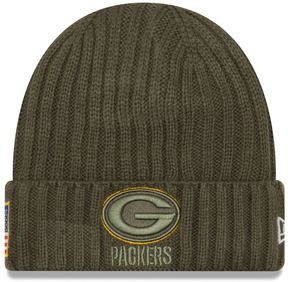 New Era Adult Green Bay Packers Salute to Service Beanie