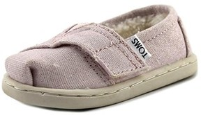 Toms Classic Round Toe Canvas Loafer.