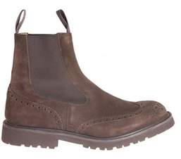 Tricker's Men's Brown Suede Ankle Boots.