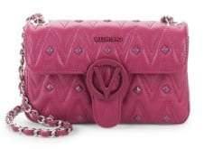 Mario Valentino Poison Studded Leather Shoulder Bag