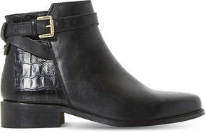 Dune Poppy leather ankle boots