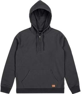 Brixton Longman 1/2-Zip Fleece Hoodie