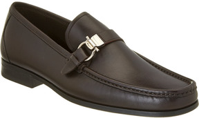 Salvatore Ferragamo Gancio Leather Loafer