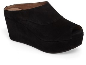 Chocolat Blu Women's Wind Platform Wedge Mule