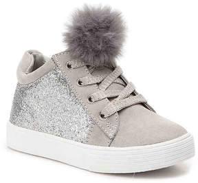 Kenneth Cole New York Girls Kam Kid Toddler High-Top Sneaker
