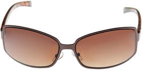 Nicole Miller Nicole By Full Frame Rectangular UV Protection Sunglasses-Womens