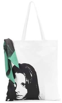 Calvin Klein Sandra Brant printed tote