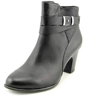 Giani Bernini Calae Round Toe Leather Ankle Boot.