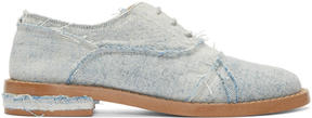 MM6 MAISON MARGIELA Blue Denim Oxfords