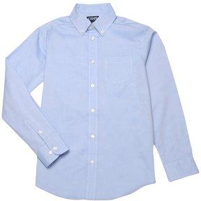 Chaps Boys 4-20 School Uniform Oxford Button-Down Shirt