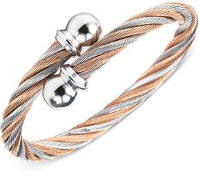 Charriol Womens Two-Tone Cable Bangle Bracelet