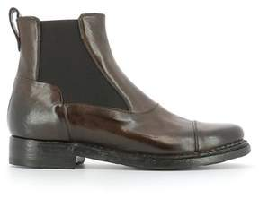 Silvano Sassetti Women's Brown Leather Ankle Boots.
