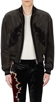 Haider Ackermann Men's Embellished Cotton-Blend Corduroy Bomber Jacket