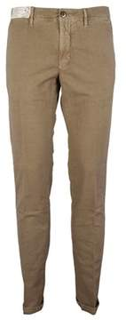 Incotex Men's 1st60390665422 Beige Cotton Pants.