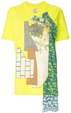 Antonio Marras patchwork T-shirt