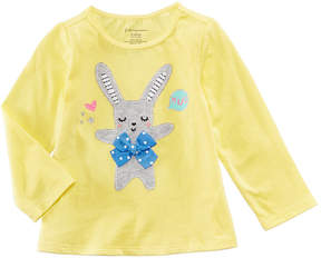 First Impressions Sweet Chic Bunny T-Shirt, Baby Girls (0-24 months), Created for Macy's