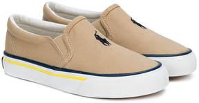 Ralph Lauren logo slip-on sneakers