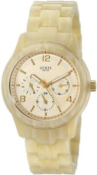 GUESS Spectrum Alloy Collection W13572L2 Women's Resin Analog Watch