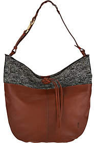 ED Ellen Degeneres As Is Leather Brea Hobo Handbag