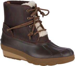 Sperry Saltwater Wedge Tide Shearling Duck Boot
