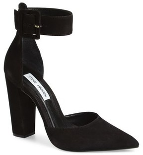 Steve Madden Women's Posted Ankle Strap Pump
