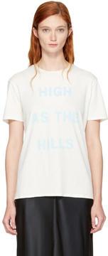 6397 White High as the Hills T-Shirt