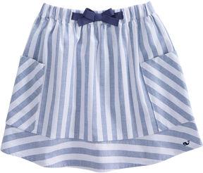 Vineyard Vines Girls Coastside Stripe Skirt