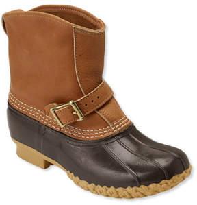 L.L. Bean Women's Tumbled-Leather L.L.Bean Boots, 7 Lounger
