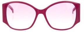 Marc Jacobs Oversize Round Sunglasses
