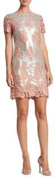 Dress the Population Joy Sequined Sheath Dress