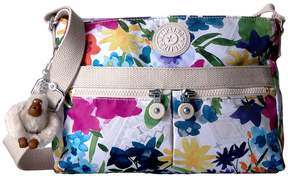 Kipling Angie Crossbody Printed Cross Body Handbags - FLOWER POWER - STYLE