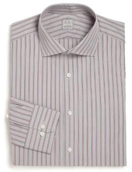 Ike Behar Regular-Fit Lion Striped Dress Shirt