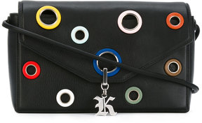 Christopher Kane eyelet detail Devine shoulder bag