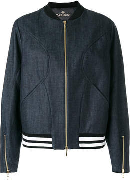 Capucci denim bomber jacket