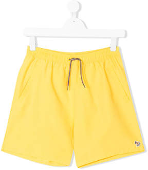 Paul Smith TEEN embroidered swim shorts