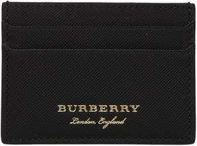 Burberry Logo Embossed Card Holder
